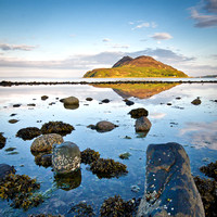 Holy Isle from Clauchlands